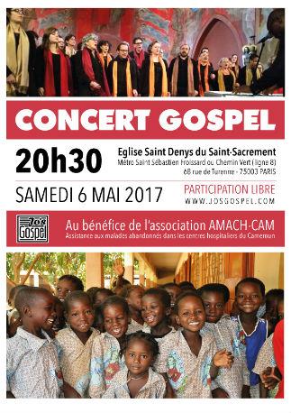 Affiche de notre concert du 6 mai 2017
